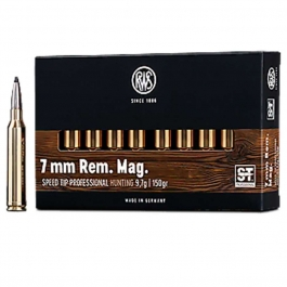 MUNICION RWS C/ 7 MM REM. MAG. SPEED TIP PROFESIONAL