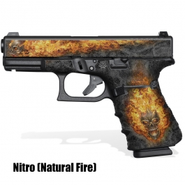 GRIP SHOWGUN Glock 17 Gen5 NITRO (Natural Fire)