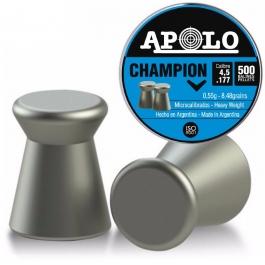 BALIN APOLO CHAMPION CAL. 4.5 MM .177 (500 UDS)