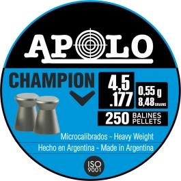 BALIN APOLO CHAMPION CAL. 4,5 MM. (250 UDS)