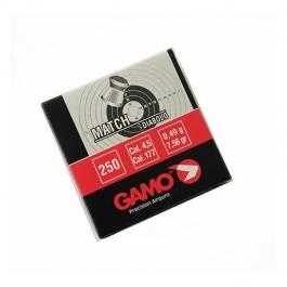 BALIN GAMO MATCH DIABOLO CAL. 4,5 MM (250 UDS)