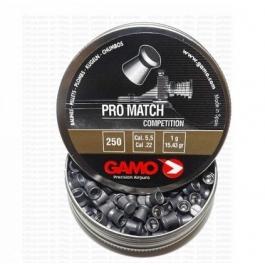 BALIN GAMO PRO MATCH COMPETITION CAL 4,5 MM 500 UN.