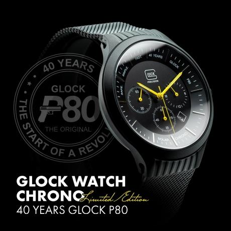 RELOJ GLOCK 40 ANIVERSARIO GLOCK P80