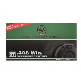 MUNICION RWS C/308 WIN. ST SPEED TIP 165 GR. (20 UDS)
