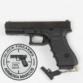Pistola GLOCK 17 con llave de seguridad Cal. 9x19