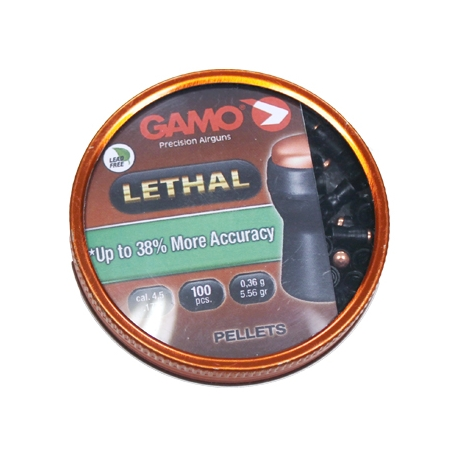 BALINES GAMO LETHAL CAL. 4,5MM (100 ud)