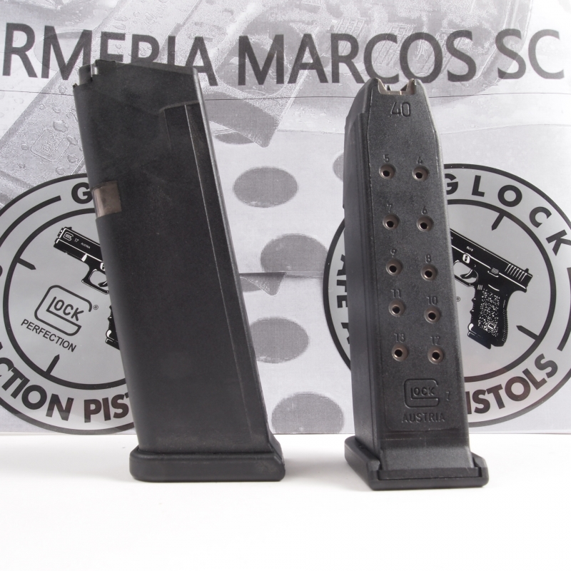 CARGADOR GLOCK 23 Cal. 40 13 T. - Armeria Marcos   Importador ...