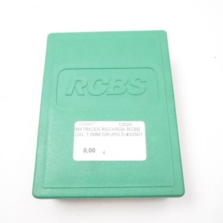 MATRICES RECARGA RCBS CAL.7.5MM GRUPO D