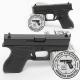Pistola GLOCK 42 Cal. 380