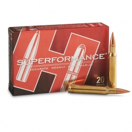 MUNICION HORNADY C/30-06 SST 180 GR. (SUPERFORMANCE)