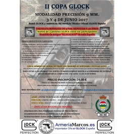 II COPA GLOCK OPEN PRECISION 9MM.