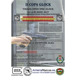 II COPA GLOCK OPEN IPSC Y PRECISION 9MM