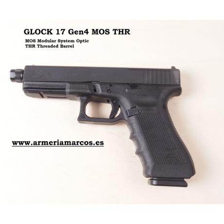 PISTOLA GLOCK 17 Gen4 MOS THR 9x19