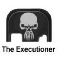 """PLACA CORREDERA GLOCKSTORE """"EXECUTIONER"""""""