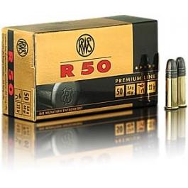MUNICION RWS C/22 LR. R50 50/U.