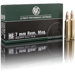 Municion RWS Cal. 7 MM.REM.MAG KS162 Gr.