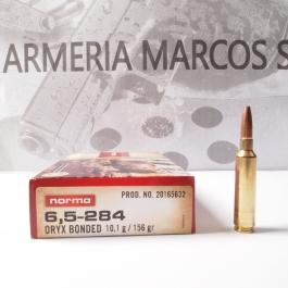 Municion Norma Cal. 6.5-284 ORYX BONDED 156GR