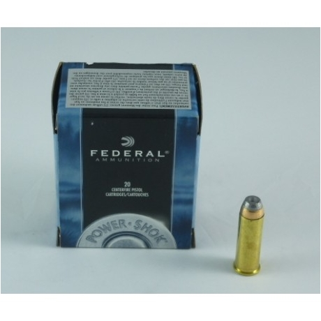MUNICION FEDERAL C/44 RM 240 GR (HOLLOW POINT)