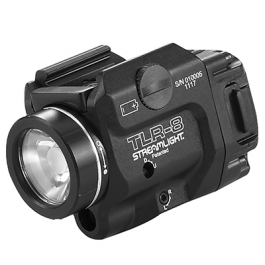 LINTERNA STREAMLIGHT TLR-8 CON LASER