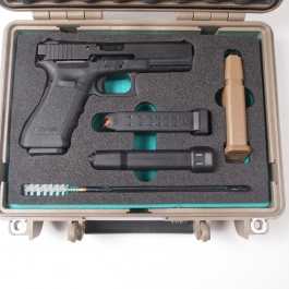 MALETIN EXPLORER CASES PISTOLA GLOCK 19 /17