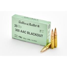 MUNICION SELLIER&BELLOT C/300 ACC FMJ 147 GR.