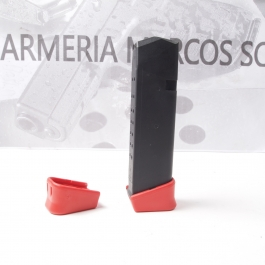 BASE CARGADOR GLOCK +2 COLOR ROJO