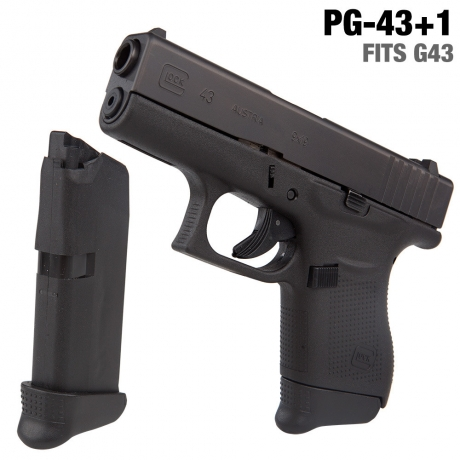 BASE CARGADOR GS GLOCK 43 +1 CART.