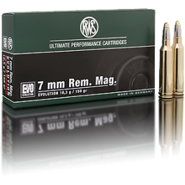MUNICION RWS C/7MM REM.MAG. EVOLUTION 159 GR.
