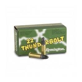 MUNICION REMINGTON THUNDERBOLT C/22