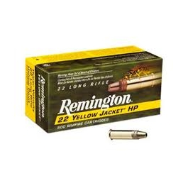 MUNICION REMINGTON C/22 YELLOW JACKET 50 U/
