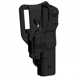 FUNDA DESIGN TECH V3 GLOCK 17 NIVEL III ROTATIVA (BES3037)