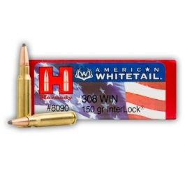 MUNICION HORNADY C/308 WIN. INTER LOCK 150 GR.