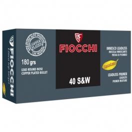 MUNICION FIOCCHI C/40 S&W PLOM.TOP TARGET (TCCP)180 G 50U/.