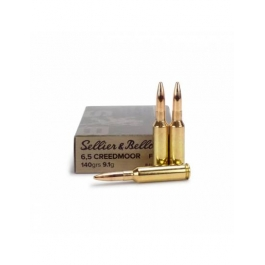 MUNICION SELLIER BELLOT C/6.5 CREEDMOOR FMJ 140 GR.