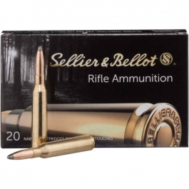 MUNICION SELLIER BELLOT C/6.5 CREEDMOOR SP.131 GR