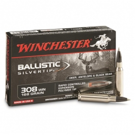 MUNICION WINCHESTER C/308 WIN BALLIS TIC 168