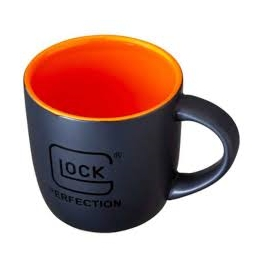 TAZA GLOCK NEGRA/NARANJA (COFFEE MUG)