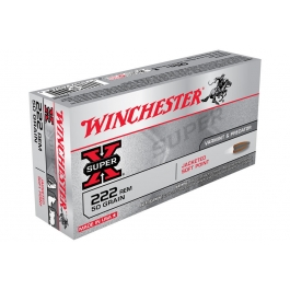 MUNICION WINCHESTER C/222 SUPER-X 50 GR.