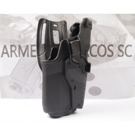 FUNDA RADAR GLOCK 17 GEN5 + TLR6 NIVEL III