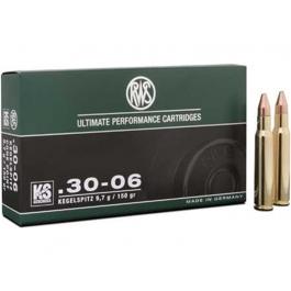 MUNICION RWS C/30-06 KS 150 GR.