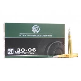 MUNICION RWS C/30-06 ST 165 GR