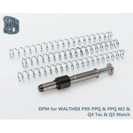 MUELLE DPM SYSTEM WALTHER P99-PPQ/PPQ M2/Q4 Tac/Q5 Match Polymer Frame