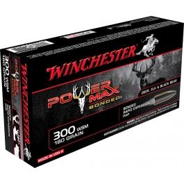 MUNICION WINCHESTER C/300 WSM POWER MAX 180 GR