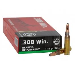 MUNICION GECO C/308 WIN T-MANTEL 170 GR.