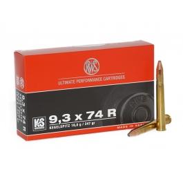 MUNICION RWS C/9,3x74R KS 247 GR.