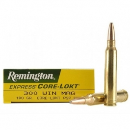MUNICION REMINGTON C/300 WIN MAG PSP CORE-LOCK 180 GR