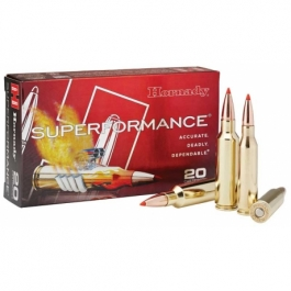 MUNICION HORNADY C/30-06 SST 150 GR. (SUPERFORMANCE)
