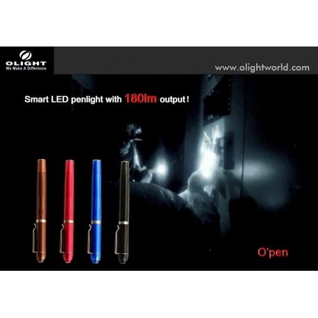 Linterna Olight pen 180 Lum.Azu Xp-g2