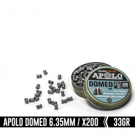 BALIN APOLO DOMED C/6.35 (200UN) 2.2G