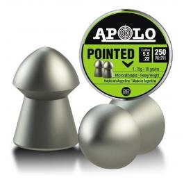 BALIN APOLO POINTED CAL.5,5 - 1,15 GRS. (250UN)